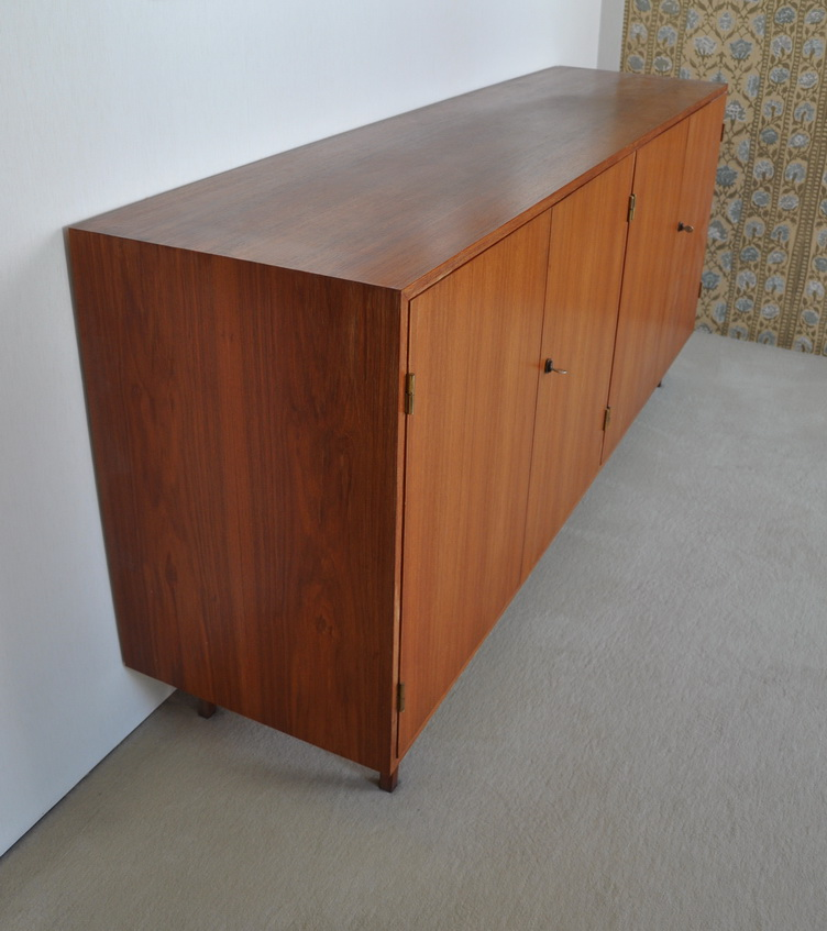 60s teak sideboard sehr schlicht top zustand for Sideboard 80er jahre